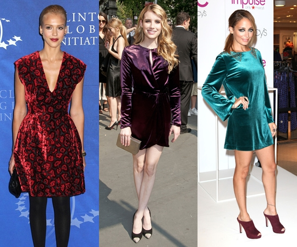 celebrities-wearing-velvet-dress (1)