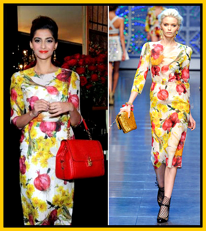 dolce-and-gabbana-spring-2012-floral-onion-print-dress-sonam-kapoor-indian-fashion1