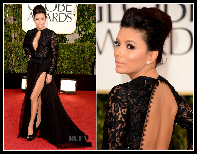 Eva-Longoria-in-Emilio-Pucci-2013-Golden-Globe-Awards